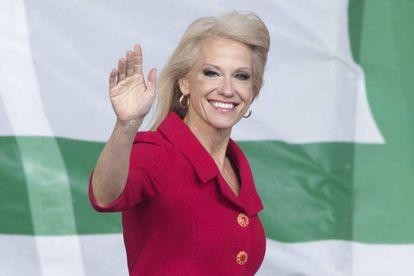 Kellyanne Conway, asesora del presidente Donald Trump.