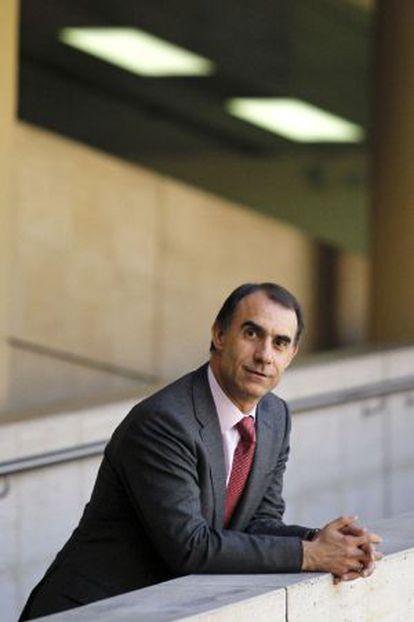 César Antón, en la sede del Imserso.