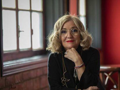 La directora de 'El barman de las estrellas', Eva Vizcarra.