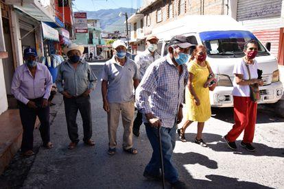 Adultos mayores denunciaron en noviembre que no les llega su pensión en Chilpancingo (Guerrero).