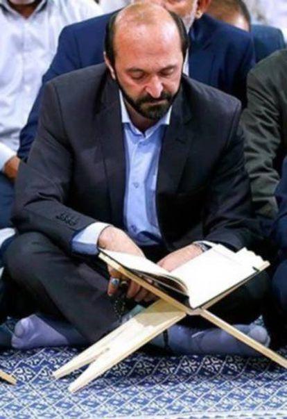 El recitador de Corán iraní, Saeid Tusi.
