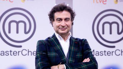Pepe Rodriguez, en una presentación de 'MasterChef', en diciembre de 2020.