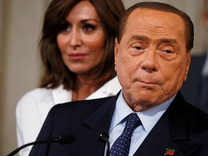 Silvio Berlusconi, en Roma en 2019.