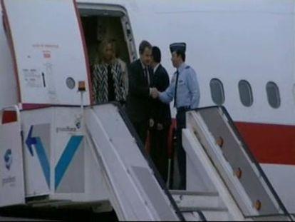 Zapatero llega a Lisboa para participar en la cumbre de la OTAN