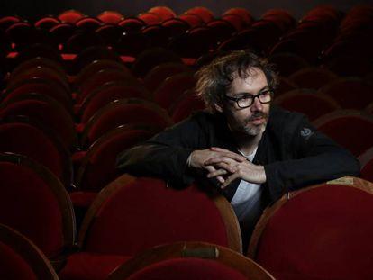 El músico James Rhodes en el Teatro Pavón de Madrid.