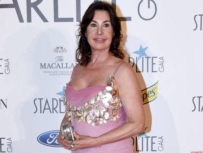 Carmen Martínez Bordiú en la gala Starlite de Marbella el pasado mes de agosto.