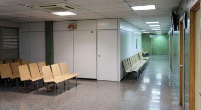 Aspecto interior del centro de especialidades Fuencarral.