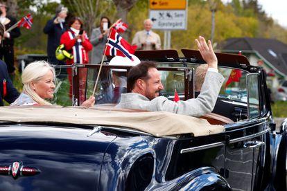 Haakon Mette-Marit de Noruega, en el día de la Constitución del país el pasado 17 de mayo.