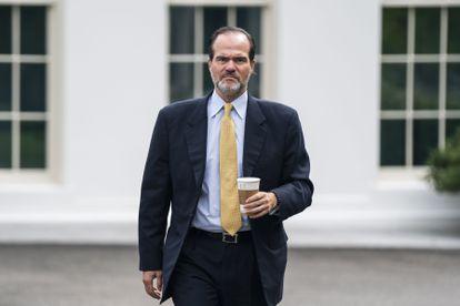 Mauricio Claver-Carone, en la Casa Blanca en agosto.