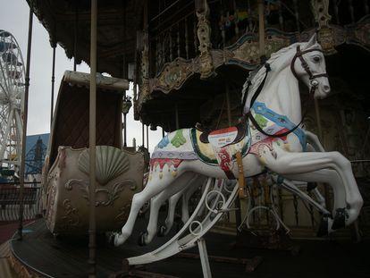 Parque de atracciones del Tibidabo cerrado este abril.