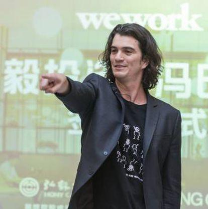 Adam Neumann, fundador de WeWork.