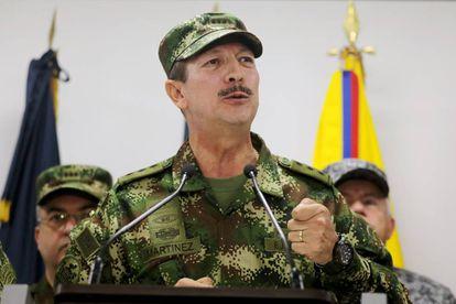 El general Nicacio Martínez, el pasado 20 de mayo durante una comparecencia.