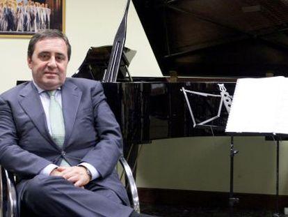 Juan Carlos Matellanes, en la sede de la ABAO.
