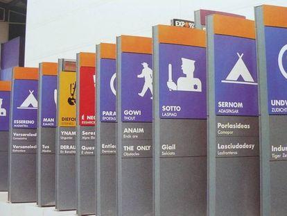 Obras de Rogelio López Cuenta para la Expo'92 de Sevilla.