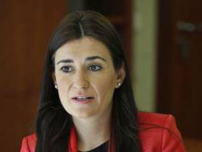 Carmen Montón, consejera de Sanidad Universal y Salud Pública.
