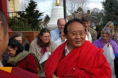 Sogyal Rinpoche en Seattle (EE UU) en 2011.
