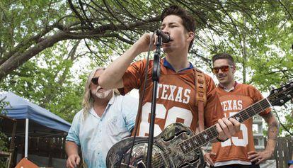 Nicky Hayden, en Austin el año 2015.
