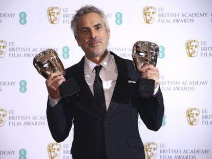 El drama de Alfonso Cuarón se ha impuesto en la principal categoría a  La favorita , de Yorgos Lanthimos, en lo galardones británicos del cine