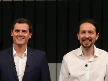PP y PSOE han dado carpetazo a la propuesta de Podemos y Ciudadanos de cambiar la fórmula electoral de asignación de escaños, pero los nuevos partidos insisten en la injusticia y falta de proporcionalidad del sistema actual