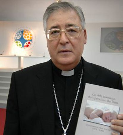 El obispo de Alcalá, José Antonio Reig Plá.