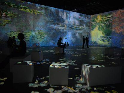 Audiovisual inmersivo en la obra de Monet en el centro Ideal, que se inaugura el viernes en Poblenou.