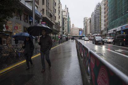 La peatonalización de la Gran Vía de Madrid será uno de los emblemas de la gestión de Carmena.