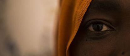 Una subsahariana que ha pasado siete meses en un campo de Marruecos.