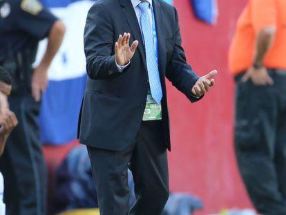 El técnico colombiano Jorge Luis Pinto.