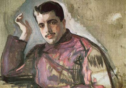 Sergei Diaghilev en 1909, por Valentín Serov.