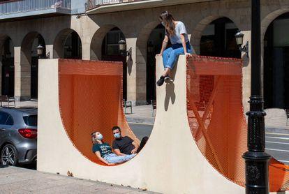 Arch-Play, de Silvia Bachetti y Agnese Casadio, en el festival Concéntrico 06 (Logroño).  