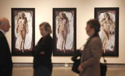 'En las moradas del castillo interior', obra de Victoria Diehl expuesta en la muestra 'En cuerpo y alma. Mujeres artistas de los siglos XX y XXI'.