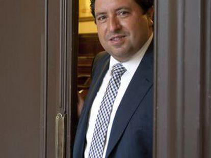 Javier Moliner, presidente de la Diputación de Castellón.