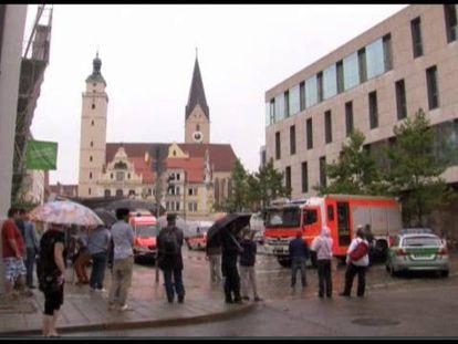El secuestro de Ingolstadt concluye con los rehenes ilesos y el asaltante herido leve