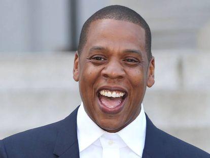 Jay-Z, nacido con el nombre de Shawn Carter, fotografiado en Los Ángeles en 2014. Es uno de los afroamericanos más ricos del mundo y ha vendido más de 75 millones de discos. En vídeo, su perfil.