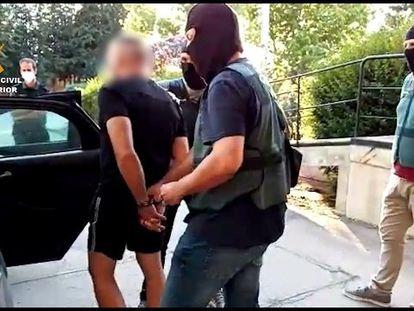 Antonio Tejón, el Castaña, uno de los narcotraficantes más poderosos del Campo de Gibraltar, fue detenido este jueves justo al salir de prisión por un error judicial.