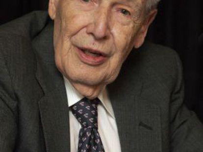 Juan José Linz, especialista en sociología política, en 2004.