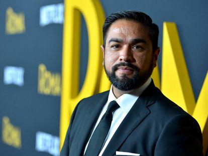 Luis Rosales, en el estreno en Hollywood el pasado 10 de diciembre de 'Roma'.