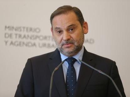 José Luis Ábalos, el 12 de julio, cuando aún era ministro de Transportes, Movilidad y Agenda Urbana.