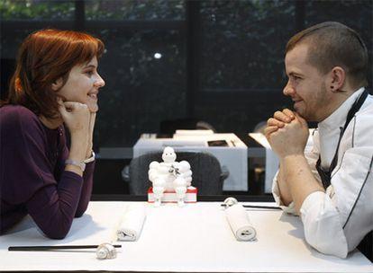 Ángela Montero y David Muñoz, responsables de DiverXo.