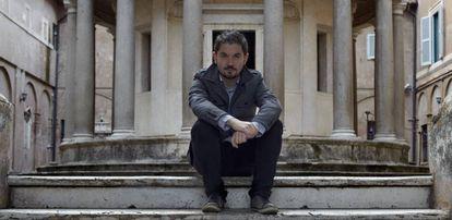 Fernando Buide durante su estancia en la Academia de España en Roma en 2012.
