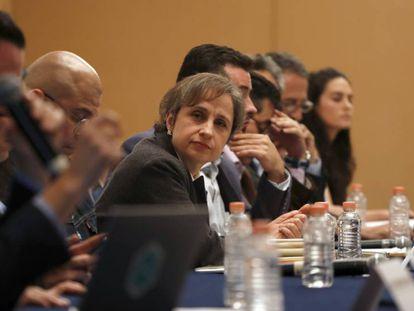 Carmen Aristegui, en una imagen de archivo.