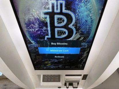 Cajero de bitcoins en Salem, New Hampshire (EE UU), el pasado febrero.