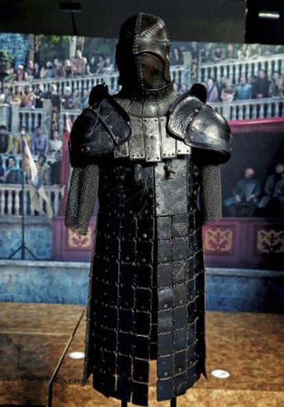 La armadura de La Montaña.