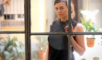 La escritora argentina Samanta Schweblin, en junio pasado, en Madrid.