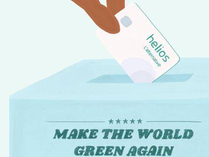 Los ecobancos quieren hacer que el mundo vuelva a ser verde
