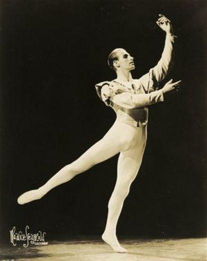 Frederic Franklin, bailarín, coreógrafo y director de ballets.