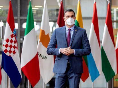 El presidente del Gobierno, Pedro Sánchez, en Bruselas el pasado diciembre.