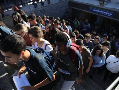 Examen de Selectividad el pasado junio en Madrid.