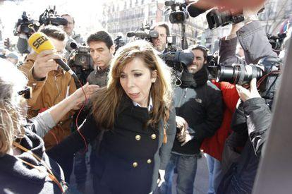 La presidenta del PP catalán, Alicia Sánchez-Camacho, en uja foto de archivo.