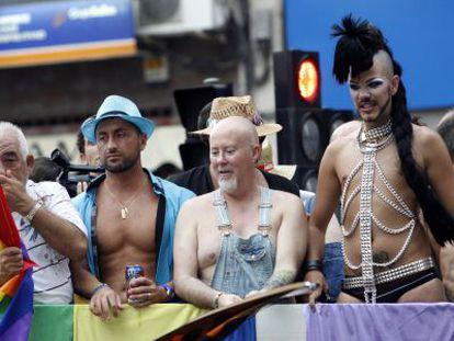 Marcha del Orgullo Gay en las calles de Alicante en 2019.